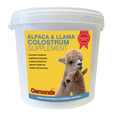 Alpaca and Llama Colostrum supplement - Bulk