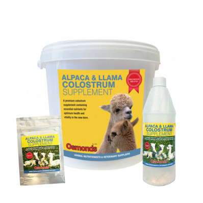 Alpaca and Llama Colostrum supplement